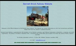 Bennett Brook Railway