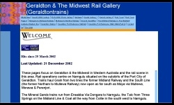 Geraldton & the Midwest Gallery website