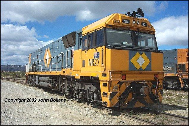 NR27 at Kewdale on 26th September 2002