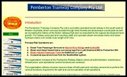 The Pemberton Tramway