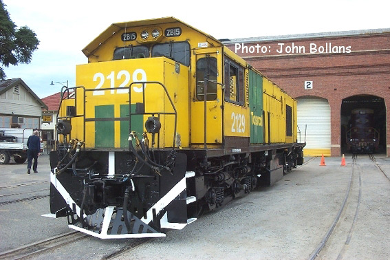 South Spur Rail's ZB2129 at Midland Workshops